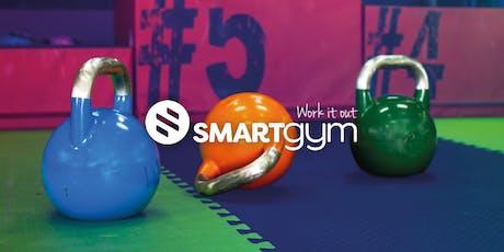 Smart Gym - Shawlands Teaser Class (evening) billets