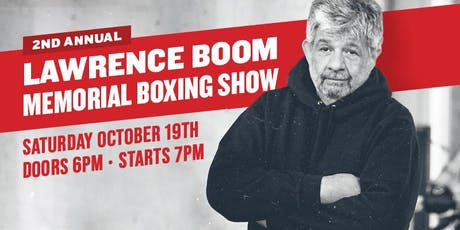 2019 Lawrence Boom Memorial Boxing Show tickets
