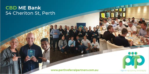 Perth Business Networking - PRP CBD / ME Bank
