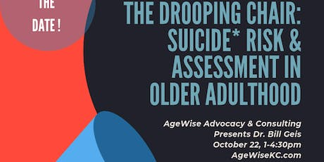 3 CEU: The Drooping Chair - Suicide Prevention tickets