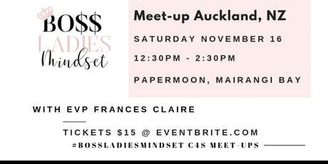 Bossladiesmindset/Crowned4Success Meetup- Frances' Birthday Celebration tickets