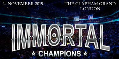 IMMORTAL CHAMPIONS KICKBOXING EVENT 2019
