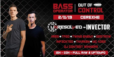 Bass Operator - Out of Control billets