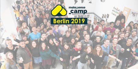Sensecamp Berlin 2019 - Actions for a cooler planet tickets