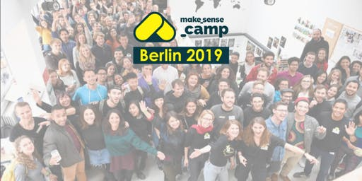 Sensecamp Berlin 2019 - Actions for a cooler planet