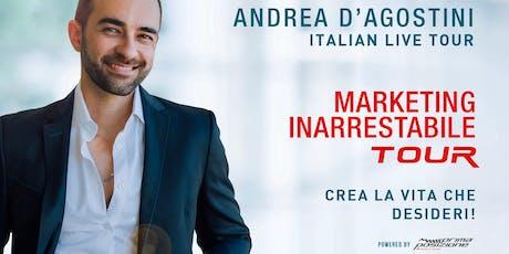 Marketing inarrestabile - Andrea d'Agostini live tour (Cosenza) biglietti