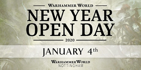 New Year Open Day 2020 tickets