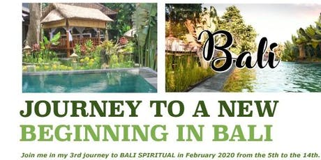 Self Rejuvenation Journey to a New Beginning,  Bali - February 2020 tickets