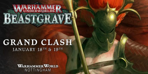 Grand Clash Warhammer World January 2020