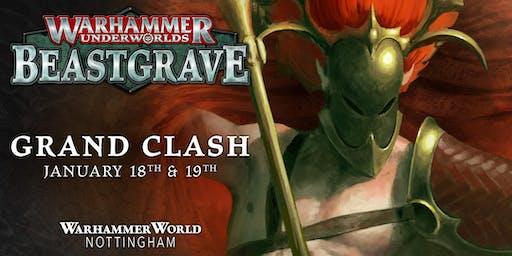 Grand Clash Warhammer World January 2020