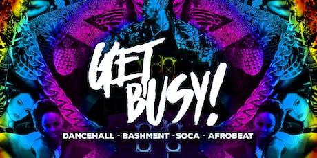 Get Busy - Dancehall, Afrobeats & Soca (Manchester) tickets