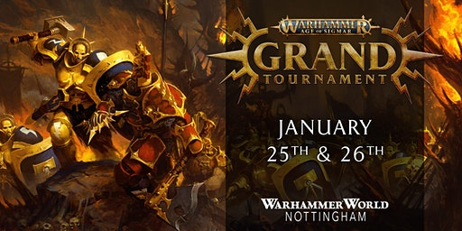 Warhammer Age of Sigmar Grand Tournament, January 2020