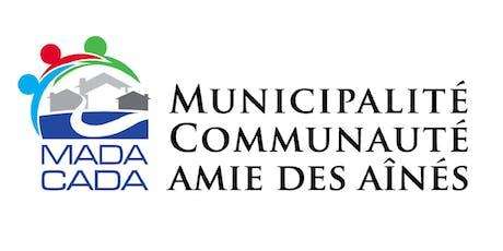 Rencontre annuelle du réseau MADA/CADA billets