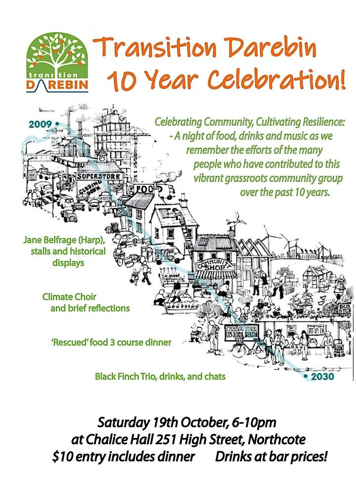 Transition Darebin - Ten years on - a Celebration image