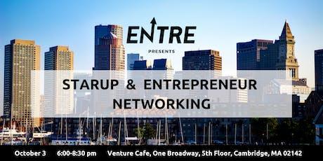 Startup & Entrepreneur Networking Event - Boston tickets