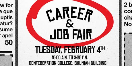 Confederation College Career & Job Fair 2020 tickets