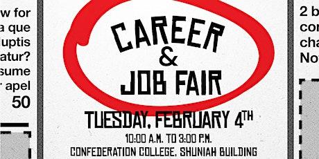 Confederation College Career & Job Fair 2020 tickets