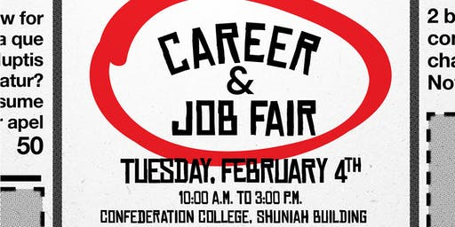 Confederation College Career & Job Fair 2020