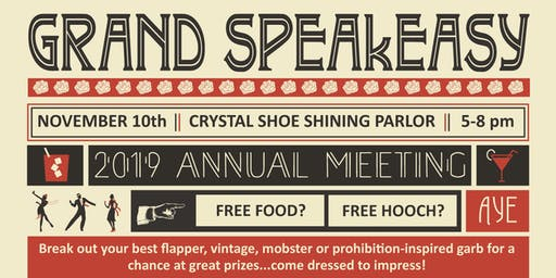 YYP Annual Meeting 2019 - A Grand Speakeasy