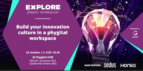 Speedy Workshop - Build an Innovation Culture in a Phygital Workspace biglietti
