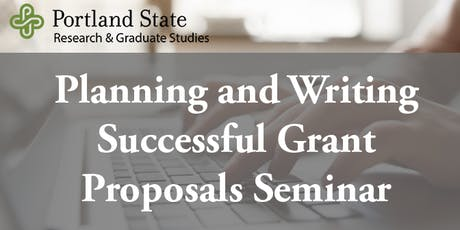 Planning and Writing Successful Grant Proposals tickets