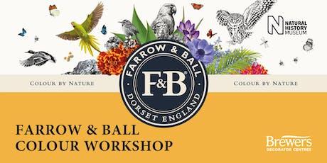 Farrow & Ball Colour Workshops at Brewers Surbiton tickets