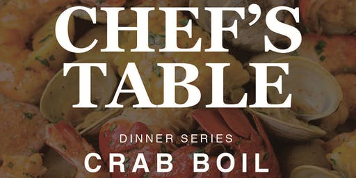 Chef's Table Dinner Series: Crab Boil