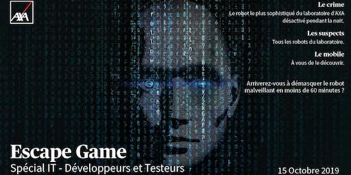Escape Game IT - Spécial Développeurs et Testeurs