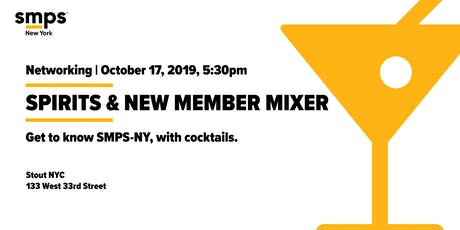 SMPS-NY Fall Spirits & New Member Mixer tickets