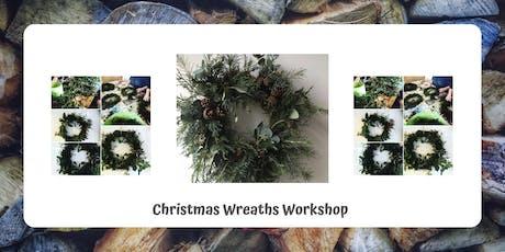 Create a Christmas Wreath tickets
