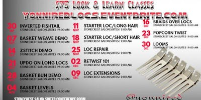 Mondays Loc Classes with YonniRed