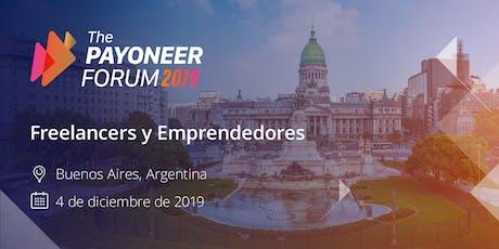 The Payoneer Forum - Buenos Aires, Argentina 2019 entradas