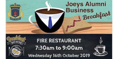 Joeys Alumni Business Breakfast