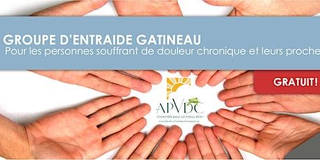 Groupe d'entraide APVDC-AQDC (soirée) billets