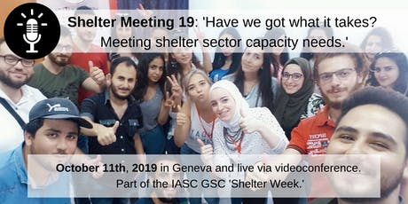 Shelter Meeting 2019 tickets