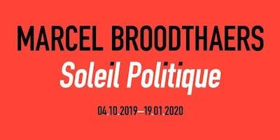 Marcel Broodthaers – Soleil Politique