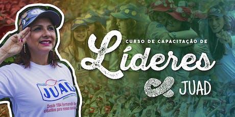 CCLJ - Curso de Capacitação de Líderes JUAD em APARECIDA DE GOIÂNIA/GO ingressos