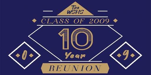 WSHS Class of 2009 Ten Year Reunion!
