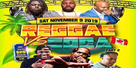 Reggae vs Soca II Ottawa tickets