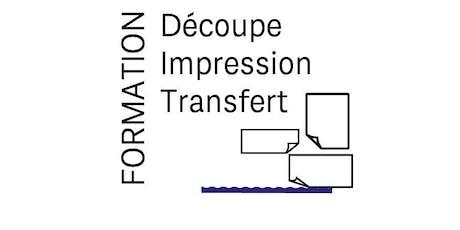 Formation traceur de découpe et d'impression  billets
