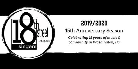 Save the Date: 18th Street Singers Winter Concert tickets