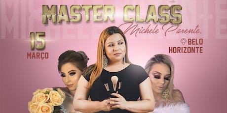 Master Class Michele Parente  - Belo Horizonte ingressos