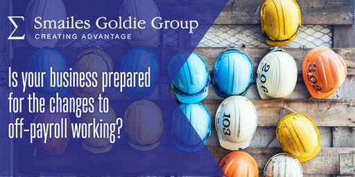 Join us for our IR35 seminar on 22 October 2019