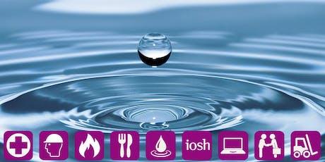 National Water Hygiene Card (Blue Card) tickets