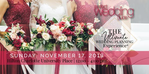 PWG's Fall  Wedding Show | Hilton Charlotte University Place | November 17
