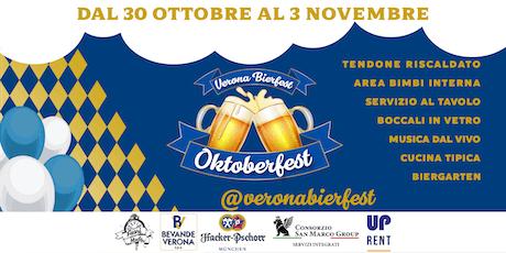 Verona Oktoberfest 2019 biglietti