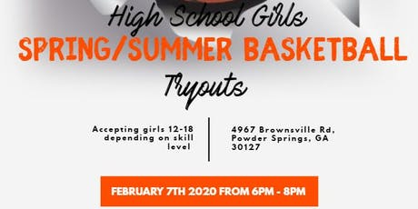 Girls Basketball Tryout for Spring/Summer Team tickets