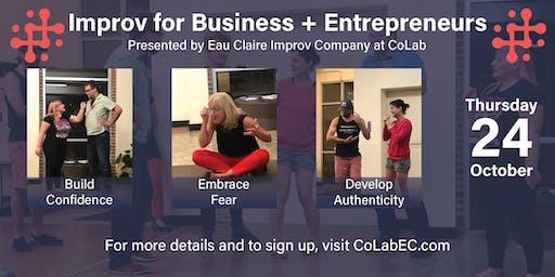 Improv for Business + Entrepreneurs