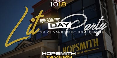 DAY:LIT | A  TSU + Vandy Homecoming Day Party