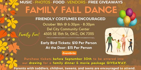 Family Fall Dance  tickets